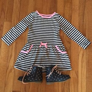 Other - 3/$15* Nautical Navy striped dress